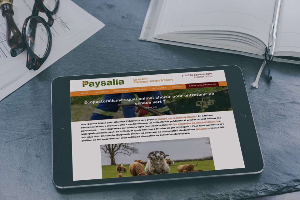 Article du blog Paysalia