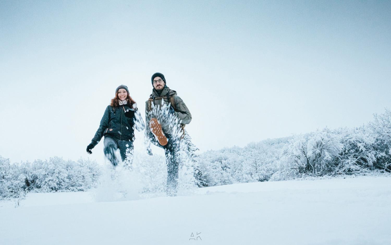 Une sortie à la neige, c'est d'abord du fun ;)